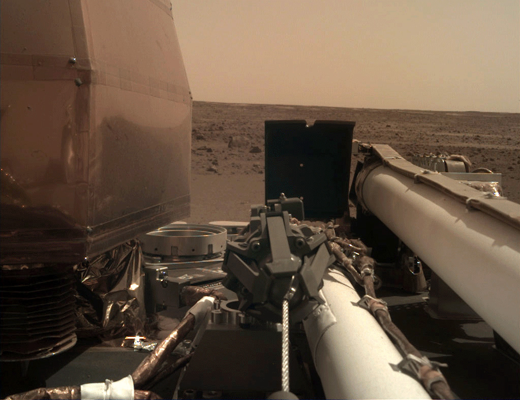 Mars Insight photograph